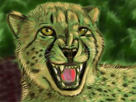 Cheetah Speedpaint by PhoenixMystery