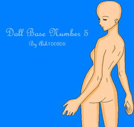 Doll Base Number 5 by Ash100805