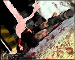 Caris Sketch 1 : Fallen by Childe-Of-Fyre