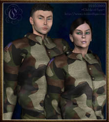 The Early Years 8 : Soldiers by Childe-Of-Fyre