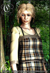 Portrait : Cassandra by Childe-Of-Fyre