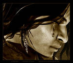 Silence - Sepia by Childe-Of-Fyre
