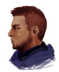 james vega sketch by frafi