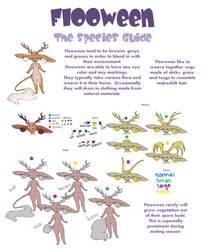 Flooween Species Guide (appearance) by GonXKillua