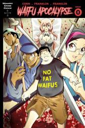 Waifu Apocalypse issue 0 cover by BrandonFranklin