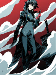 Swaptember Joker from Persona 5 by BrandonFranklin