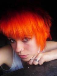 Orange Lady by 0jack