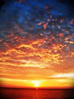 sunset in Sayak Island 4 by zuzura