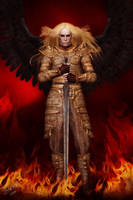 Amos - The dark angel by LadyNightVamp