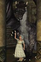 RisingDragon by LadyNightVamp