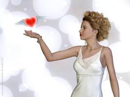 Flying heart by LadyNightVamp