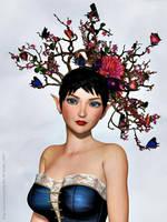 Melidae crown by LadyNightVamp