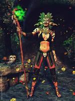 Druid priestess by LadyNightVamp