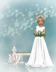 The bride by LadyNightVamp