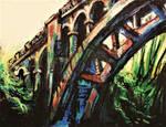 George rogers park bridge by onlygoodart