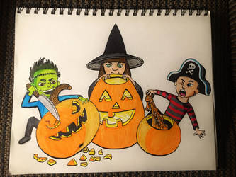 carving party by onlygoodart