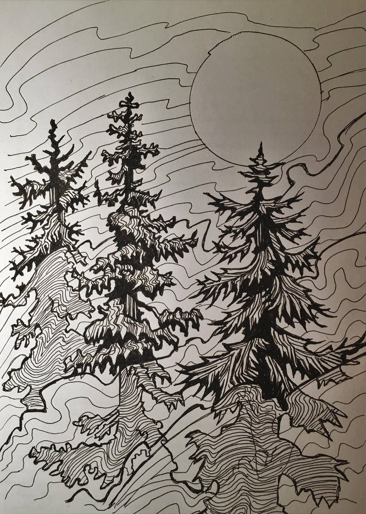 tree experiments by onlygoodart