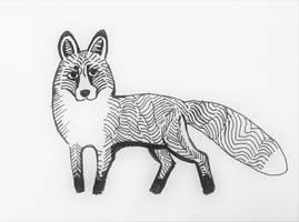 fox by onlygoodart