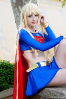 Supergirl by ivettepuig