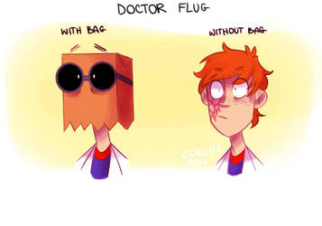 Doctor Flug (With and without bag) by Zurii122