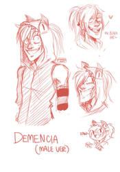 Demencia Male Ver. (Sketch) by Zurii122