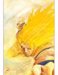 Goku by bustercloud
