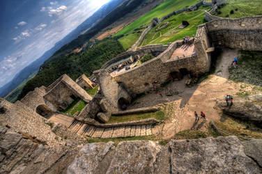 Spisky Castle - Slovakia by Jaagaa