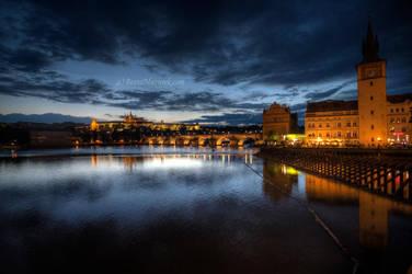 Most Karola - Praga by Jaagaa