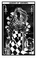 Queen of Swords by Dragonsmith-Studio