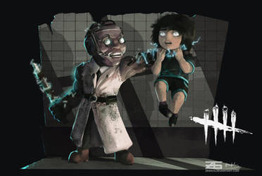 Dead by Daylight - Smol Doctor and Feng by Zinrius