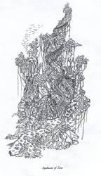 Lighthouse Ruin by Aresanob