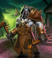 Akama - Warcraft by JamesRyman