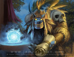 Darkmoon Sayge by JamesRyman