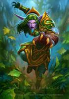 Nylaith - Guardian of the Wild by JamesRyman