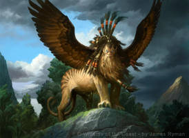 Sphinx of Magosi by JamesRyman
