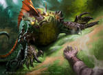 MtG M11: Greater Basilisk by JamesRyman
