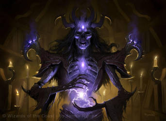 Graven Lich - MtG by JamesRyman