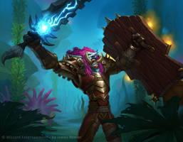 Troll Warrior by JamesRyman
