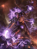 Dark Apprentice Warlock V2 by JamesRyman