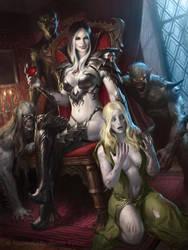 Vampire Camilla Advanced by JamesRyman