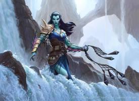 MtG: Oath of the Gatewatch - Umara Entangler by JamesRyman
