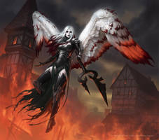 MtG: Avacyn The Purifier by JamesRyman