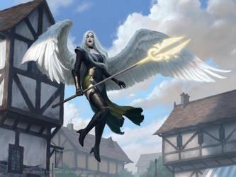 Avacyn Protector of Innistrad by JamesRyman