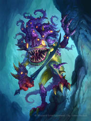 Hearthstone - BilefinTidehunter by JamesRyman
