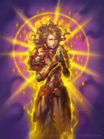 Paragon of Light for Hearthstone: The Witchwood by JamesRyman