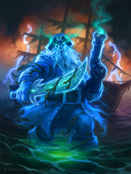 Captain Shivers for Hearthstone by JamesRyman