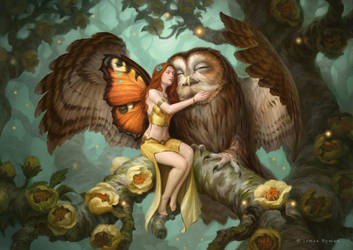 Fairy and Owl by JamesRyman