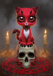 Devil Kitty by JamesRyman