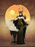 Dark Sun Witch by JamesRyman
