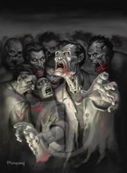 Zombies by JamesRyman